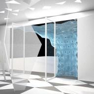 Davidson Tsui RIBA Window Display 2014 Xintiandi Shanghai - Render
