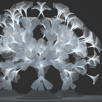 Cosmic Tree for Amsterdam Light Festival by Mamou-Mani