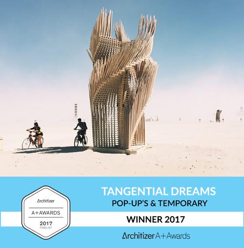 Tangential Dreams Winner Architizer 2017