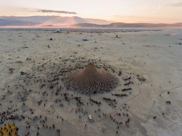 Temple Galaxia - Burning Man 2018