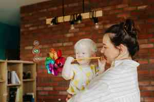 La réalité de la jeune maman, ce n'est pas un monde de bisounours
