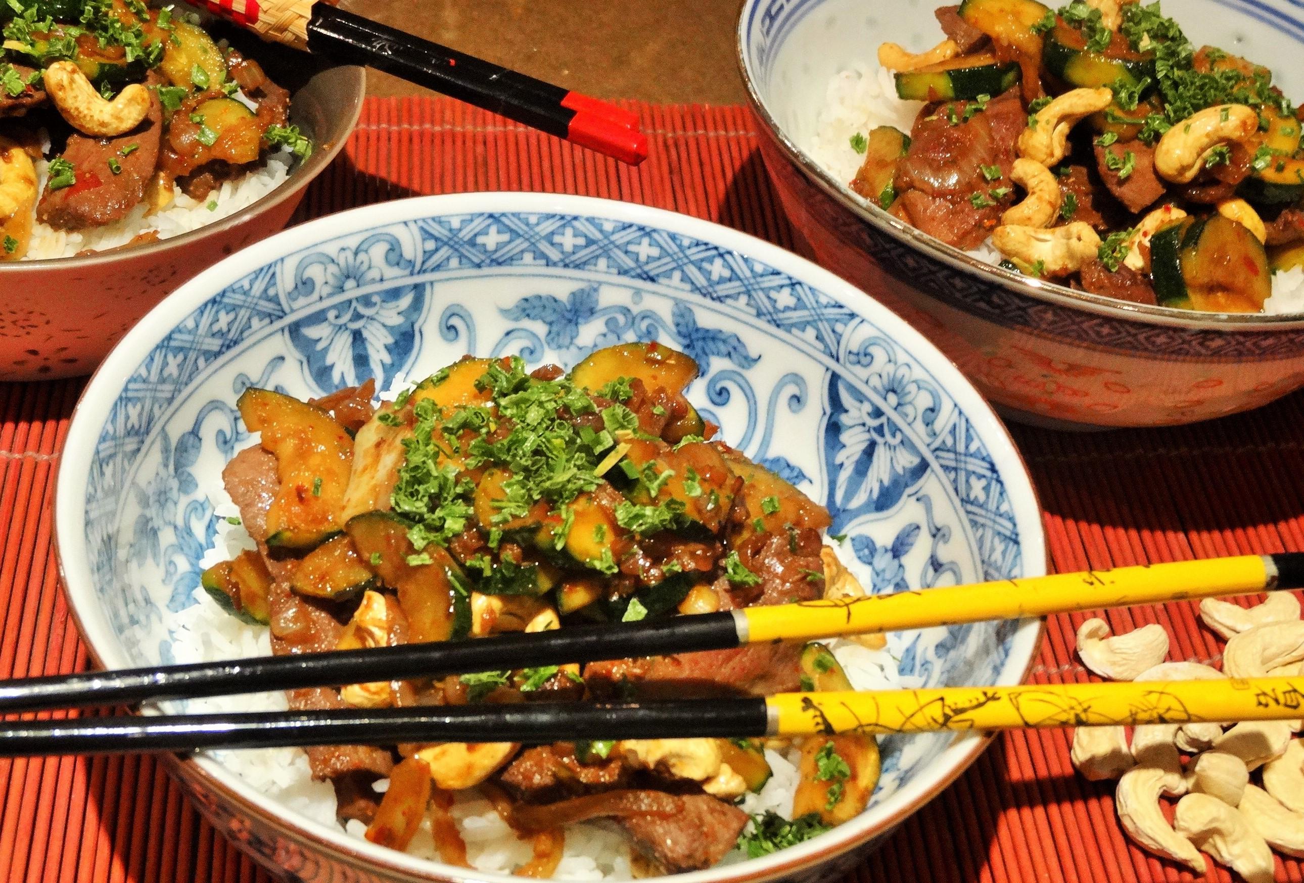 wok de magret a la vietnamienne