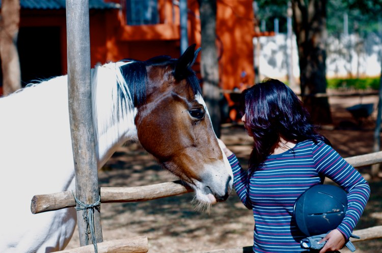 Horse riding, Love and life the inseparable