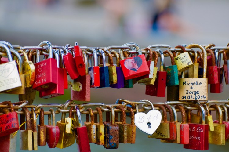 Luebeck Love Locks