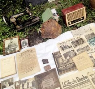 jarmark staroci w Bytomiu stare gazety