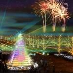 昭和記念公園クリスマスイルミネーションの見どころと情報・その評判