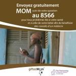 Un numéro d'appel gratuit pour les femmes enceintes par Gifted Mom