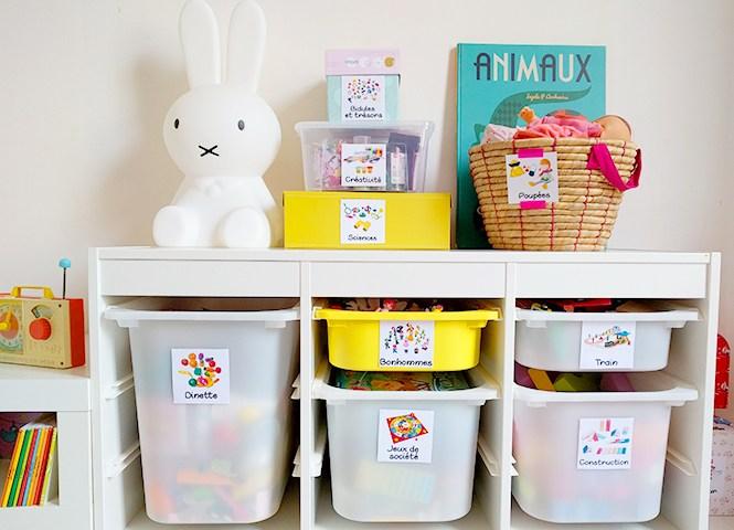 8 astuces brillantes de rangement des affaires de bébé
