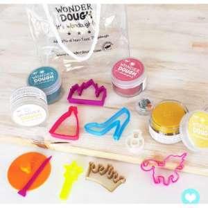 Kit de pâte à modeler naturelle Princesse mini – Wonderdough