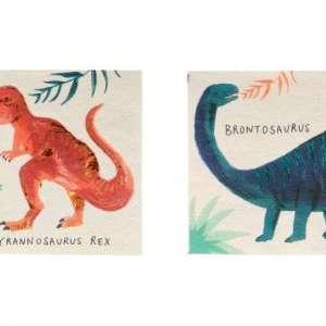 16 Serviettes Dinosaures – Meri Meri