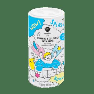 Sels de bains moussants Bleu – Nailmatic