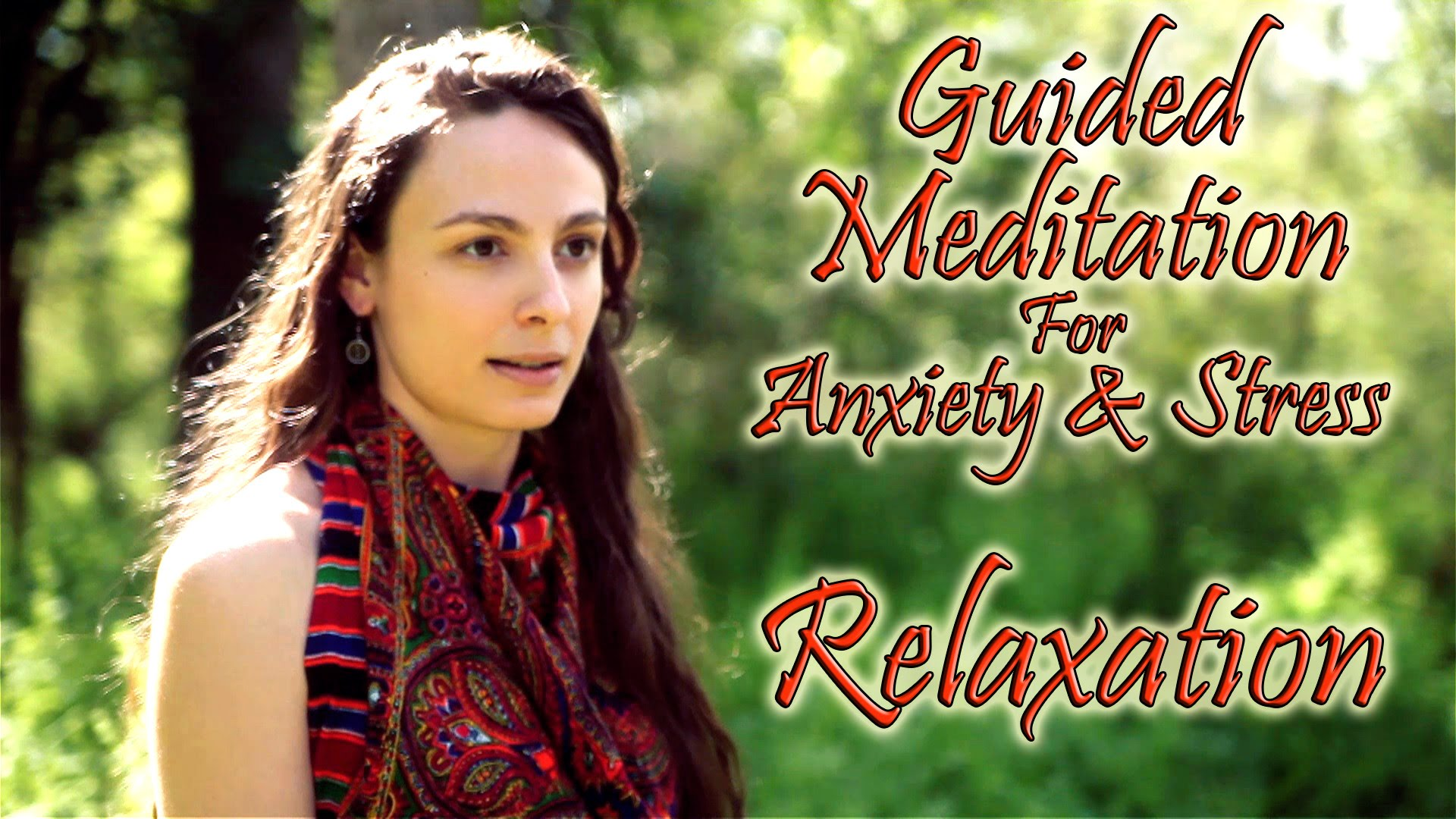 Guided Meditation For Anxiety Amp Stress Relief Calming