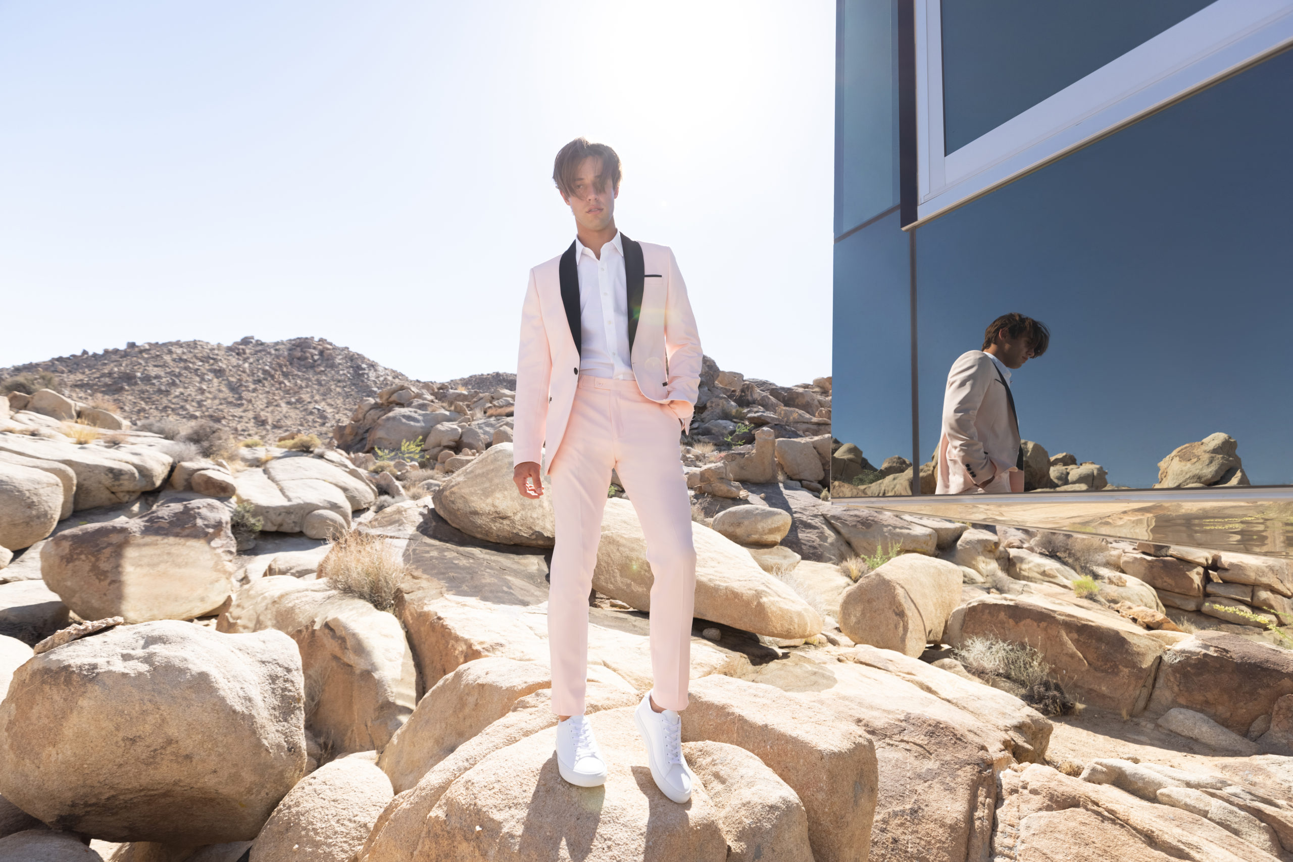 Cameron Dallas Teams Up with boohooMAN for Tailoring Collection