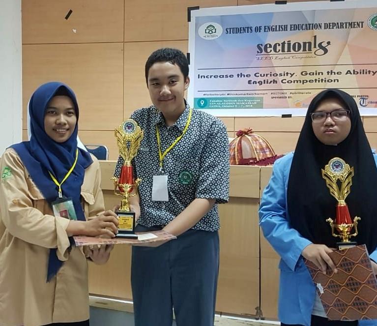 Man 2 Makassar Merajai English Competition UIN 2018
