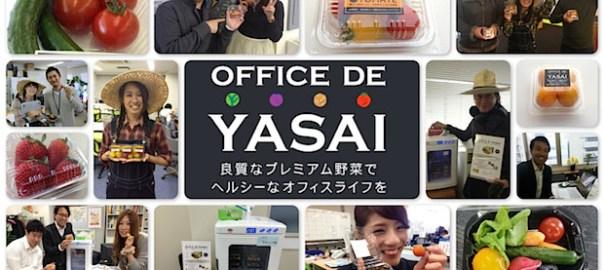 【起業アイデア】オフィスで野菜とは?