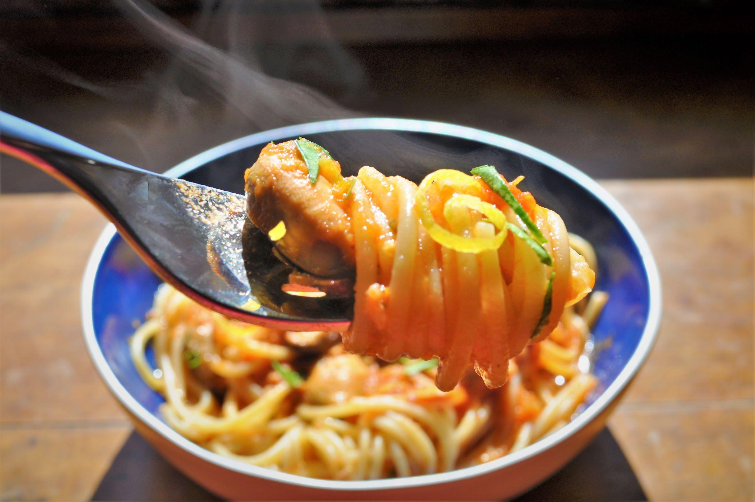 Fast Mussel Spaghetti