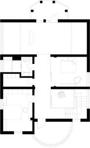 plan etaj 1 _ Casa Afumati