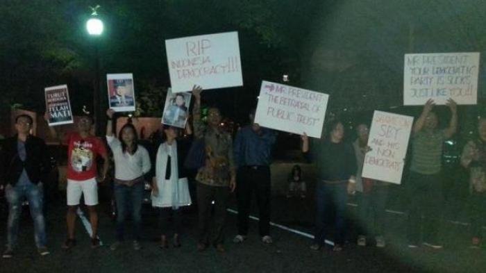 Tanda Protes,  WNI di Amerika Tolak Ajakan Makan SBY