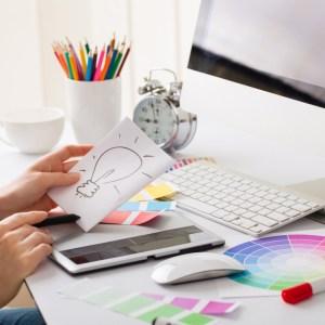 desktop-and-design-graphic-designer-desk-idea Dịch vụ thiết kế theo yêu cầu    Manage.vn