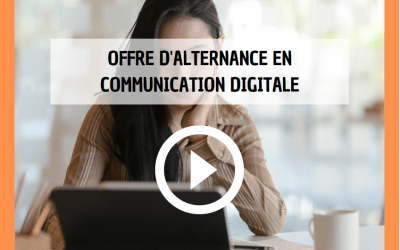 Offre alternance communication digitale