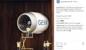 General Electric Social Media Post