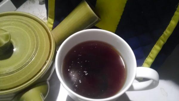 磯田園製茶20130801 やぶきた熟成国産紅茶2012 -茶液