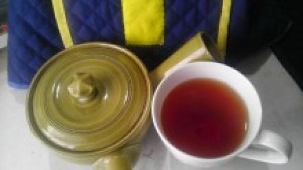 杵築紅茶 きつき紅茶べにたちわせ -茶液