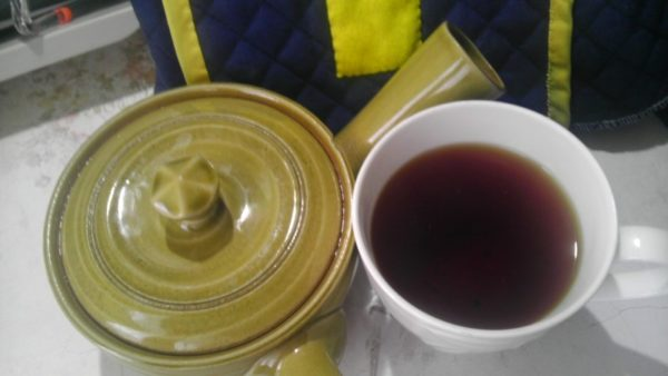 きたの茶園20130915 有機栽培うれしの紅茶2013 -茶液