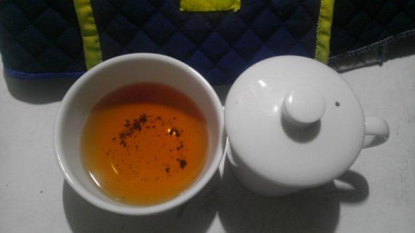 皐盧庵茶舗20130927 Japan Black Tea Kyoto -茶液