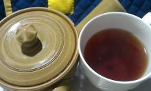 国産紅茶20131111天の上紅茶2
