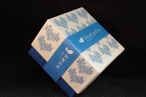 【鹿児島県】知覧心茶堂:ハートペコー知覧紅茶セカンド2018-パッケージ