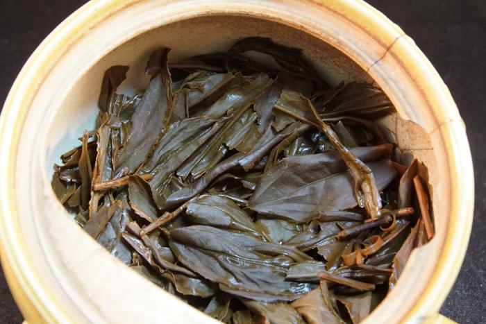 とっとり有機紅茶くらさわ2019Premium :陣構茶生産組合【鳥取県】-茶殻