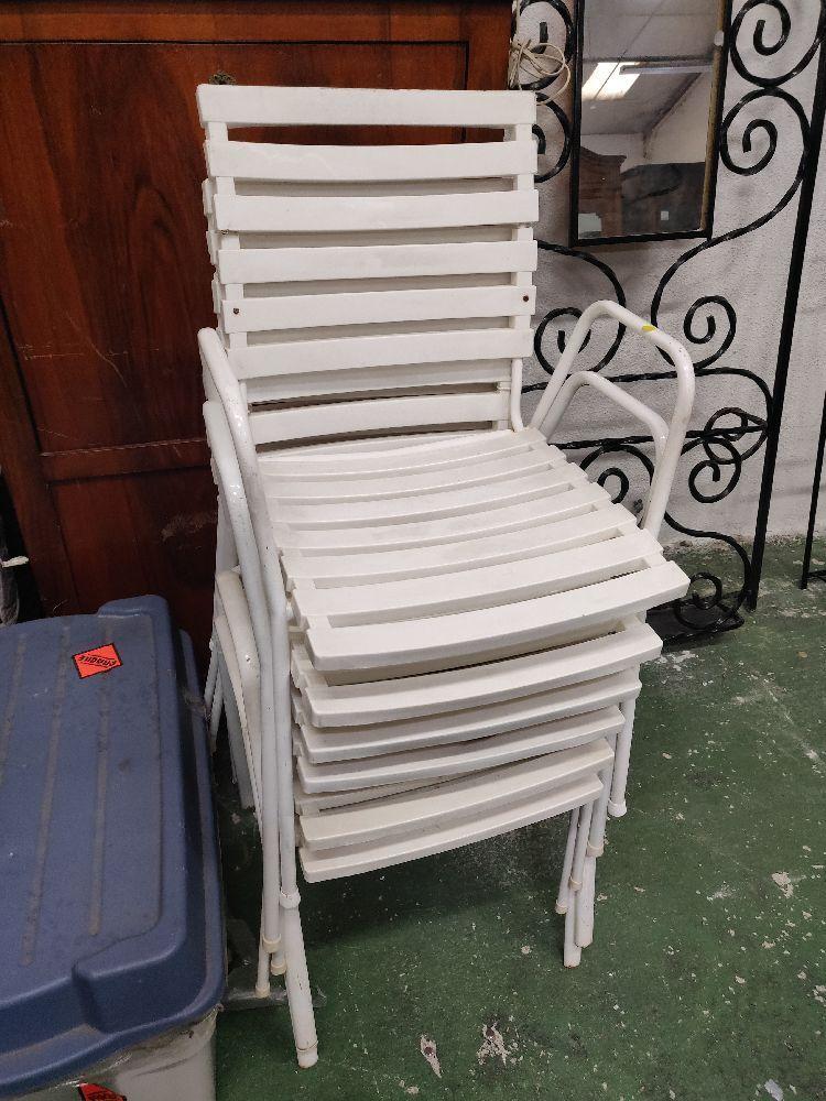 lot de chaises de jardin qualite