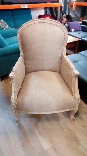 fauteuil toile de jute occasion troc