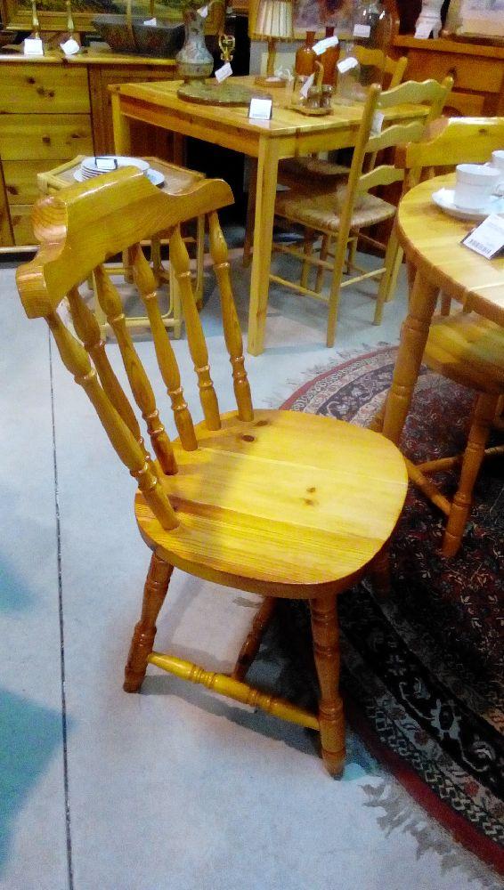 lot de 6 chaises pin massif occasion