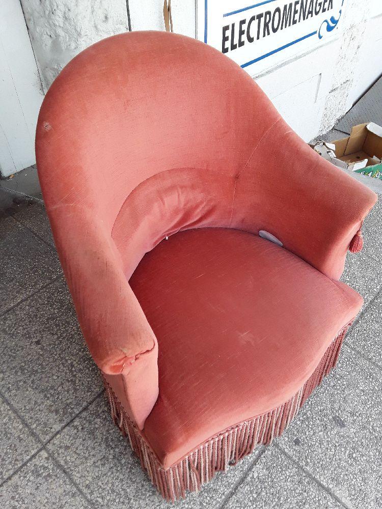 fauteuil crapaud occasion la caverne