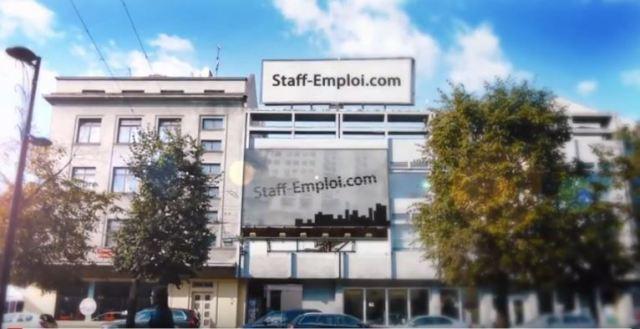 StaffEmploi Site Présentation Filmée