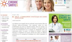 Annonce publication sur cadredesante.com