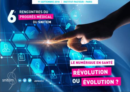 6ème Rencontre du Progrès Médical 11 Septembre 2018