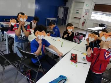 Activité ludique - Cours de la langue arabe - Ecole Manahel