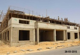 8 Marla Bahria Homes Karachi Picture for Work in Progress