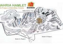 Bahria Hamlet Bahria Town Rawalpindi Map