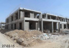 Bahria Homes 8 Marla Karachi Work IN Progress