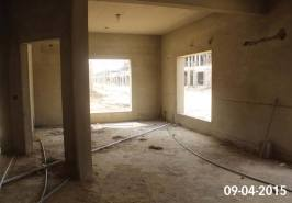 Bahria Homes Karachi View from inside Work IN Progress