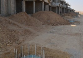Bahria Town Karachi 125 Sq.Yards Bahria Homes Construction Work in Progress