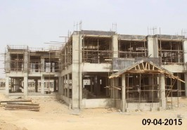 Bahria Town Karachi 5 Marla Homes Work in Progress