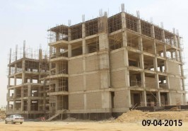 Bahria Town Karachi Apartments Work in Progress