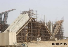 Bahria Town Karachi Gate House Under Construction