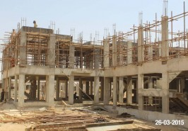 Bahria Town Karachi Hospital Work in Progress