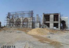Bahria Town Karachi Masjid Under Progress